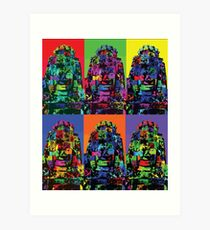 Angkor Warhol Art Print