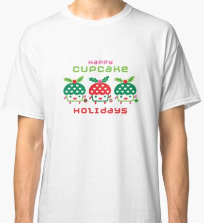 Cupcake Holidays Classic T-Shirt
