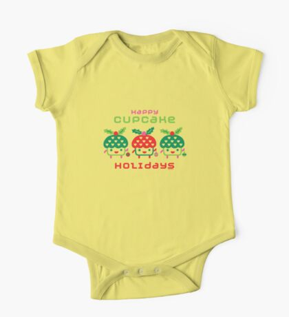 Cupcake Holidays Kids Clothes