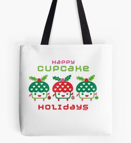 Cupcake Holidays Tote Bag