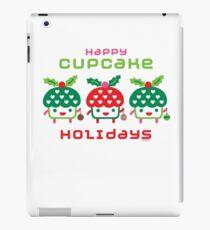 Cupcake Holidays iPad Case/Skin