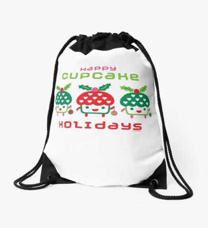Cupcake Holidays Drawstring Bag