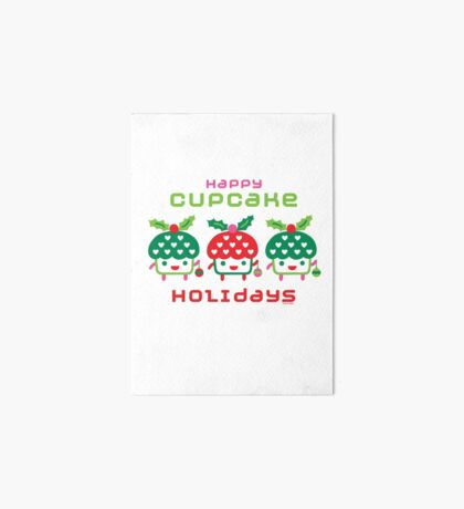 Cupcake Holidays Art Board