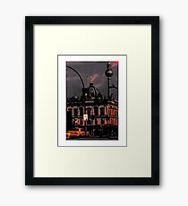 TV TOWER BERLIN Framed Print