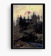 SPHERE IN THE SKY Canvas Print