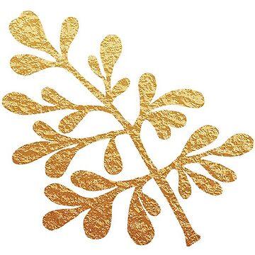 Flor de hoja de oro - Ruta de mlleruta