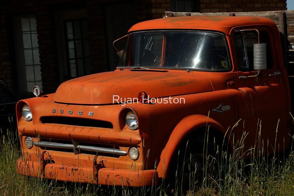Vintage Dodge Truck by Ryan Houston