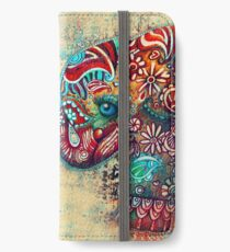 vintage elephant iPhone Wallet/Case/Skin