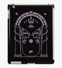 Speak Friend and Enter - Pink iPad Case/Skin