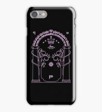 Speak Friend and Enter - Pink iPhone Case/Skin