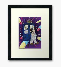 Doctor Mario Framed Print