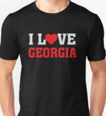 I Heart Love Georgia - State Pride  Unisex T-Shirt