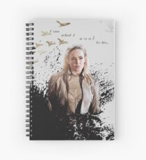 White Canary Spiral Notebook