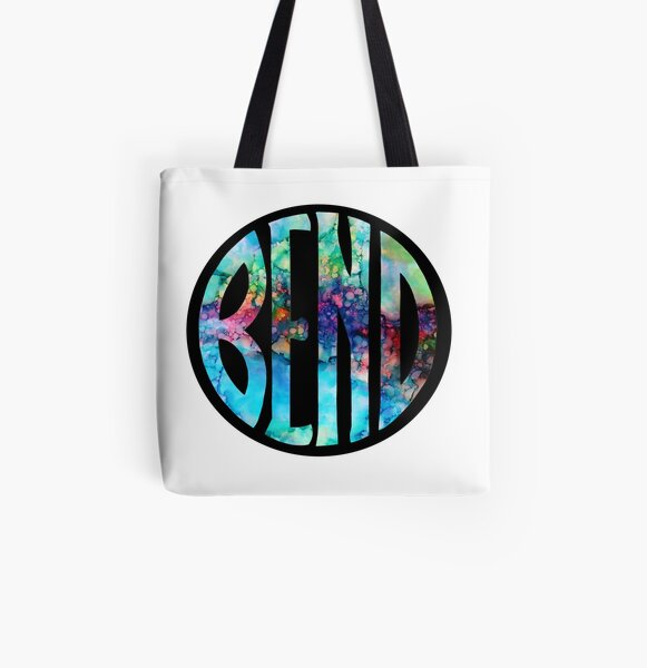 BEND Logo All Over Print Tote Bag