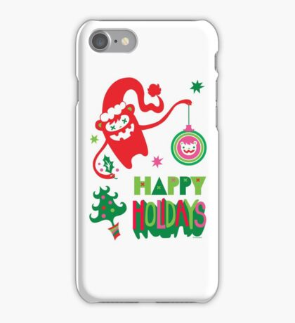 Monster Holidays iPhone Case/Skin