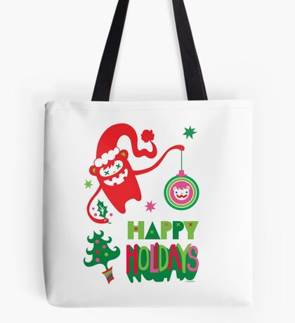 Monster Holidays Tote Bag