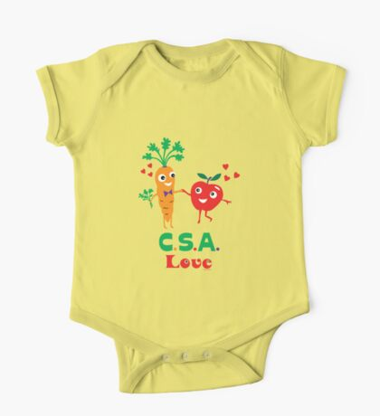 CSA Love - light (Community Supported Agriculture) Kids Clothes