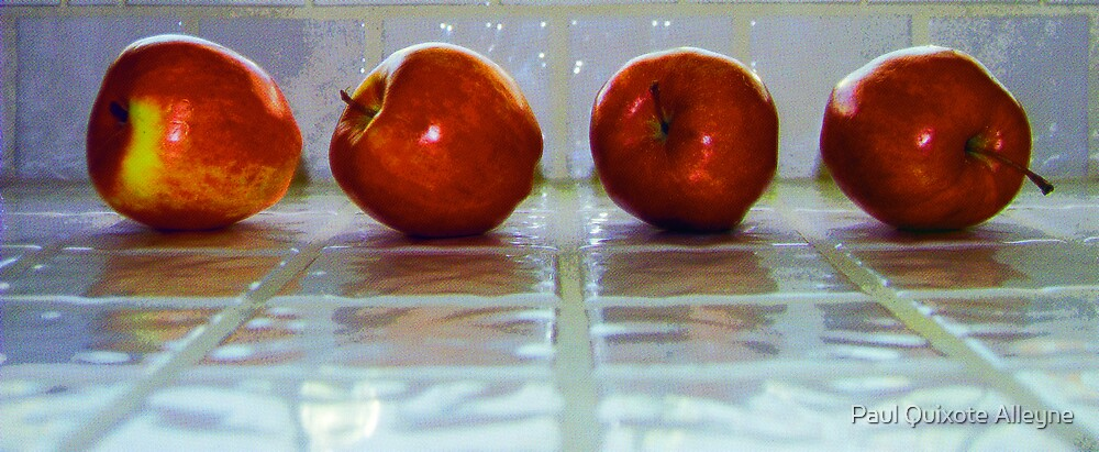 APPLES TO EAT by Paul Quixote Alleyne