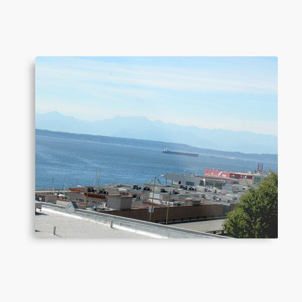 observing the sound Metal Print