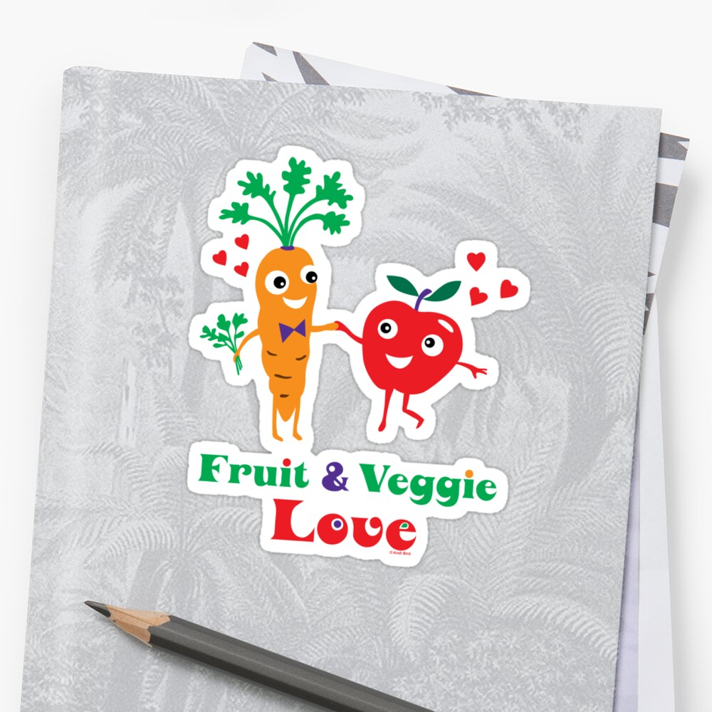Fruit and Veggie Love by Andi Bird