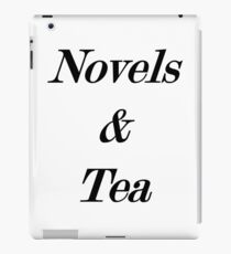 novels and tea iPad Case/Skin