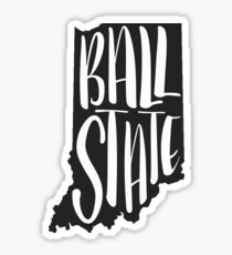 Ball State Indiana Sticker