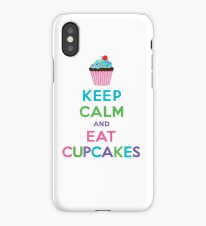 Keep Calm and Eat Cupcakes ll iPhone Case