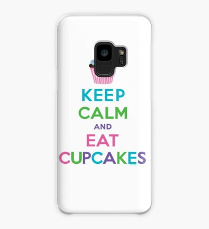 Keep Calm and Eat Cupcakes ll Case/Skin for Samsung Galaxy