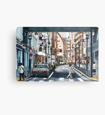 Tokyo Crossing Metal Print