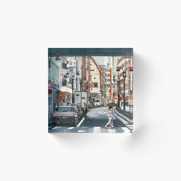 Tokyo Crossing Acrylic Block