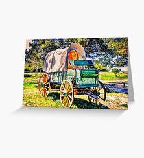 Wagon Greeting Card