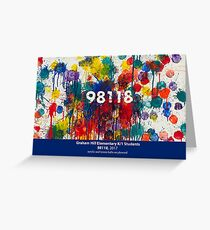 98118 by Graham Hill K/1 Students Greeting Card
