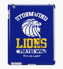 Lions For The Win!! iPad Case/Skin