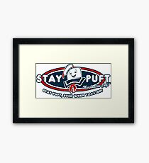 Stay Puft - Even When Toasted! Framed Print