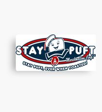 Stay Puft - Even When Toasted! Canvas Print