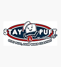 Stay Puft - Even When Toasted! Photographic Print