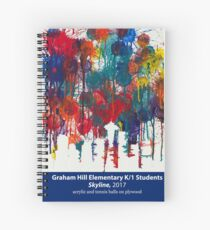Skyline by Graham Hill K/1 Students Spiral Notebook