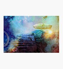 Steampunk Starburst Photographic Print