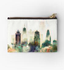 Philadelphia Pennsylvania Watercolor Skyline Studio Pouch
