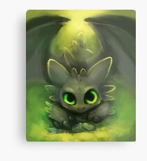 Toothless Metal Print