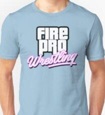Fire Pro Wrestling - VICE CITY T-Shirt