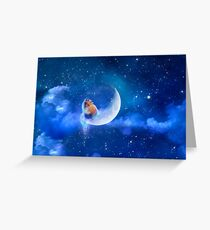 Moonfox Greeting Card