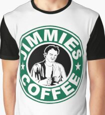 Jimmie's Coffee Graphic T-Shirt
