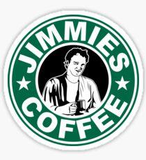 Jimmie's Coffee Sticker