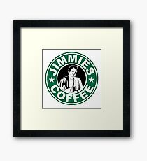 Jimmie's Coffee Framed Print
