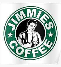 Jimmie's Coffee Poster