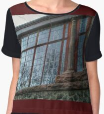 Solarium at Kips Castle Chiffon Top