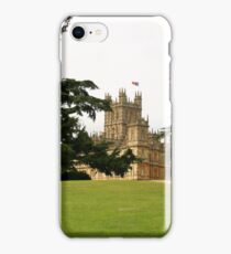 Downton abbey house and grounds iPhone Case/Skin