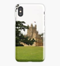 Downton abbey house and grounds iPhone Case