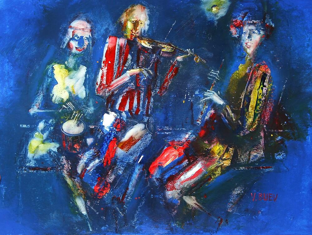 night concert by Valeriu Buev